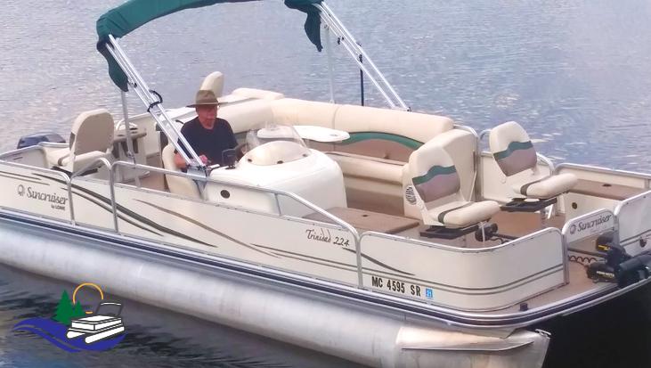 22 ft Suncruiser Trinidad Pontoon for rent in Tomahawk WI