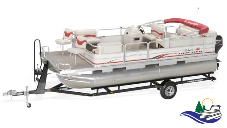 20' Sun Tracker Pontoon for Rent in Tomahawk